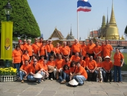 Bulagro team and clients in Thailand