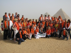 Bulagro team and clients in Egypt