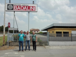 Service training at BADALINI, DOMINONI and SGARIBOLDI in Italy