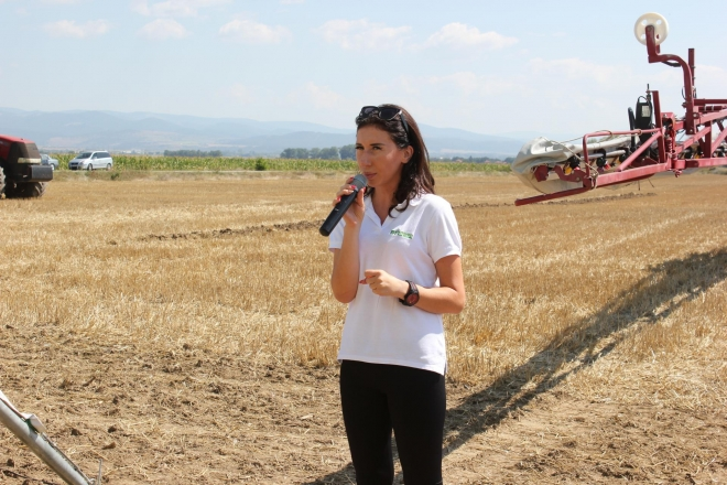 A large field demo of Bulagro Machines in the region of Sofia