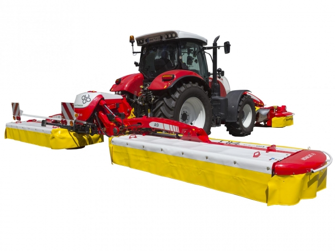 NOVACAT A9 - Expanding a proven line of combination mowers Pöttinger