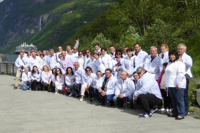 Bulagro and Partners on a Norwegian Fiords cruise