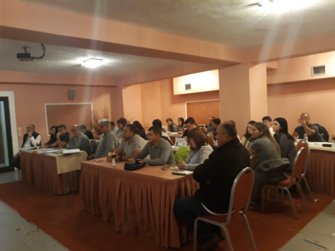 Joint training of Caussade Semence Bulgaria Ltd. and Bulagro Inc. in Loutraki, Greece