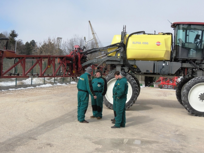 HARDI service training in Dobrich