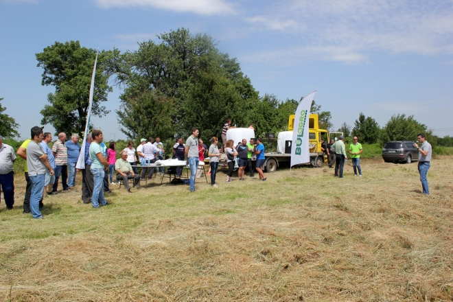FIELD DEMONSTRATION OF OUR GREEN LINE IN NORTH BULGARIA