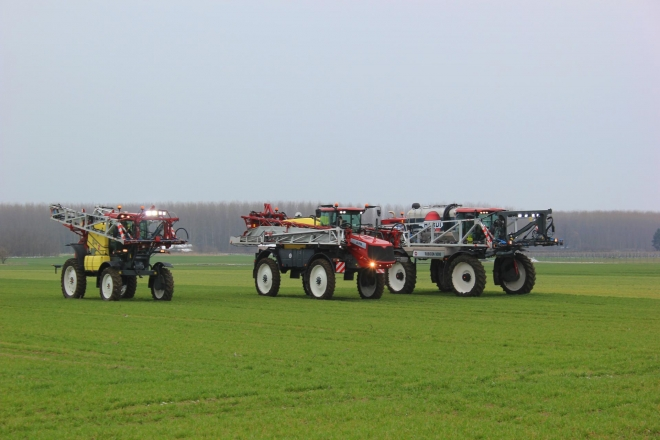 The sales team of Bulagro Machines took part in the HARDI RALLY event in Hungary