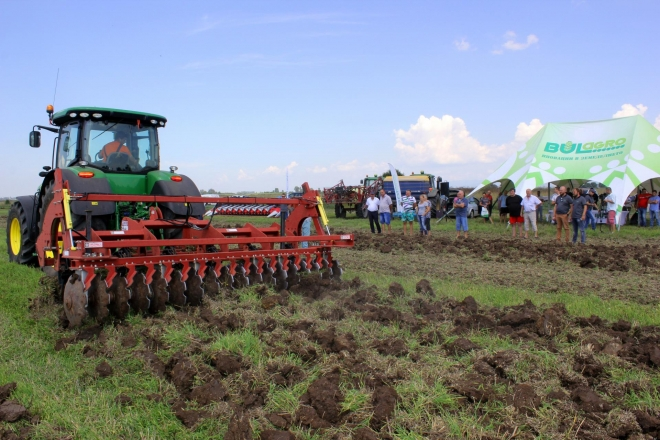 Field demonstration in Ravno Pole village, 09.08.2018