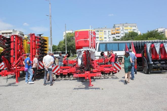 BULAGRO MACHINES STARTED SUMMER TOUR IN STARA ZAGORA