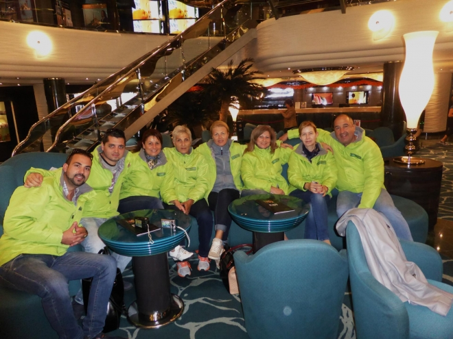 BULAGRO AND PARTNERS ON A CRUISE 2014