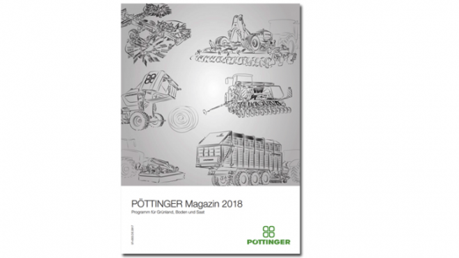 The new Poettinger magazine for 2018 is available in Bulgarian